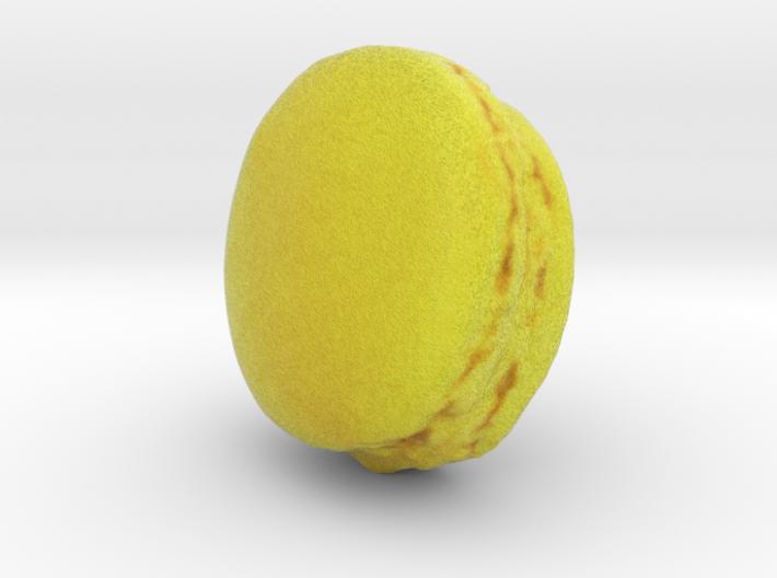 The Yuzu Macaron 3d printed