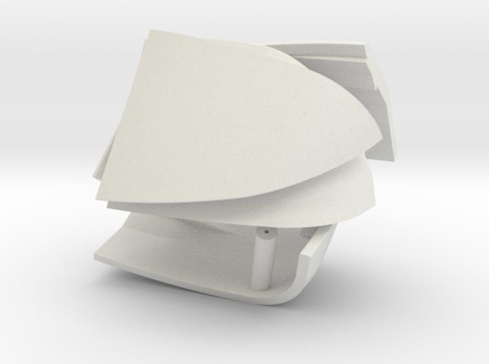 4 Teile Deckel 3d printed