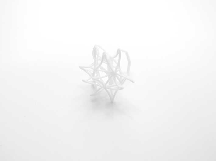Aster Ring (Small) Size 7 3d printed