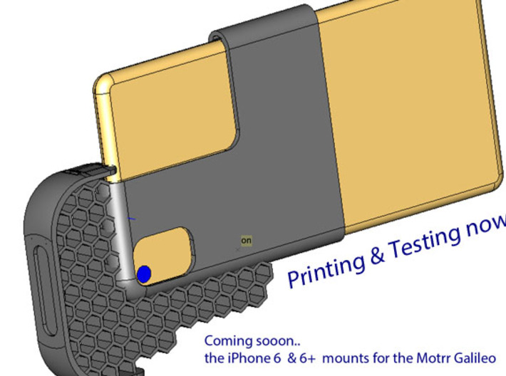 Motrr Galileo iPhone 5 & 5s  panorama nodal point  3d printed PLEASE PM me if you are interested in the iPhone 6 mount.