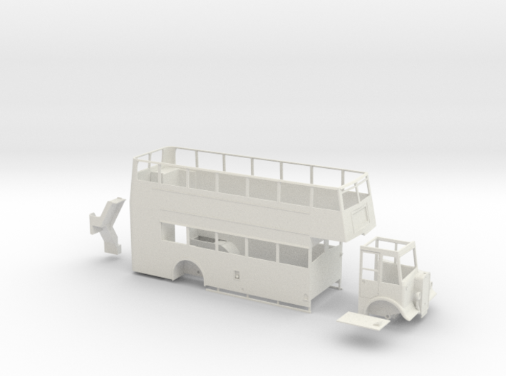 1:43 Guy Arab II/Park Royal Utility body 3d printed