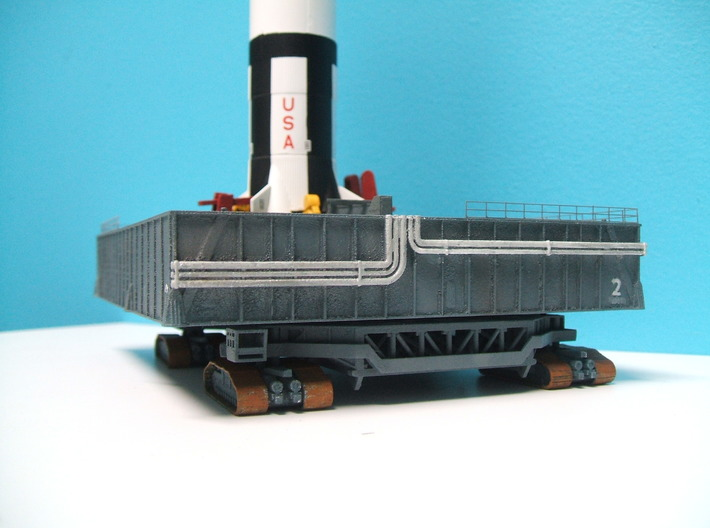 1/400 Saturn V MLP, Apollo launch pad 3d printed
