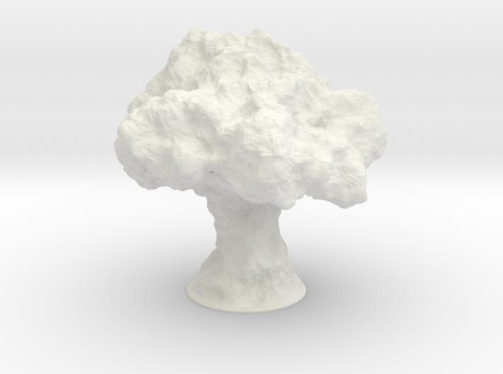 Nuke Lamp 3d printed