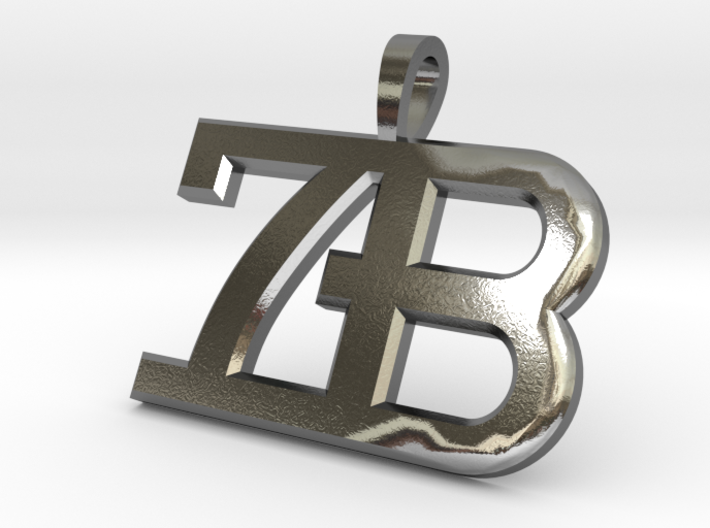 7B Seven Bridges Key Chain Pendant 40mm 3d printed