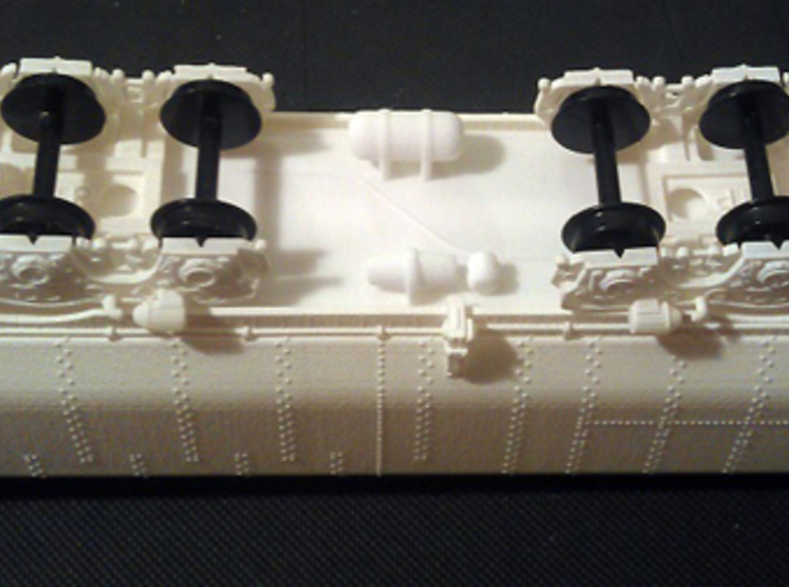 UP Water Tenders HO Scale 1:87 Jim & Joe 3d printed Shell Chassis & Trucks