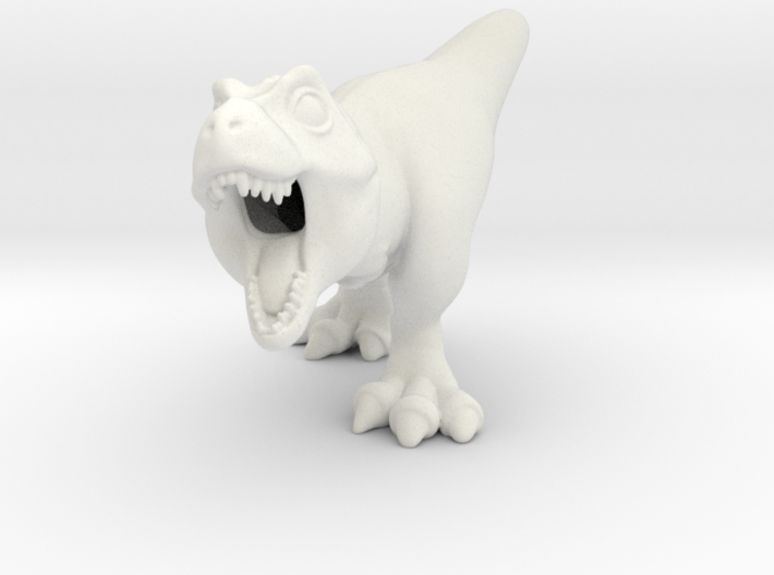 Trex Chubbie Huge Polished 3d printed