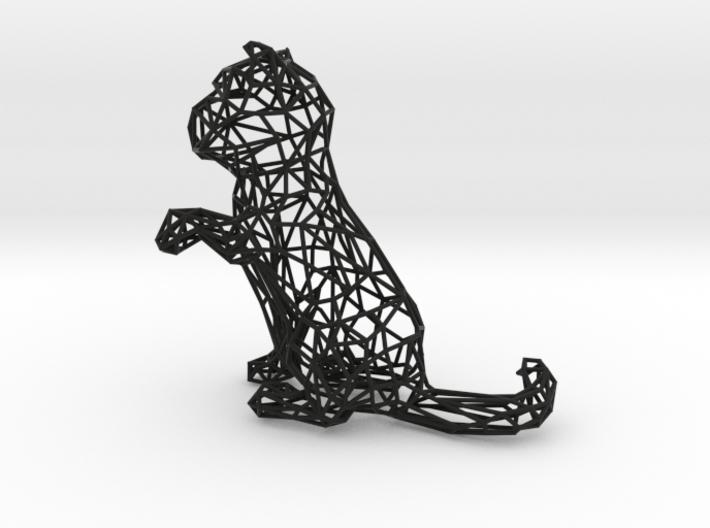 3D Wire Kitten (Not Exploding Kittens) 3d printed