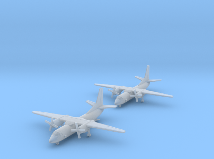 1/700 An-26 with Gear x2 (FUD) 3d printed