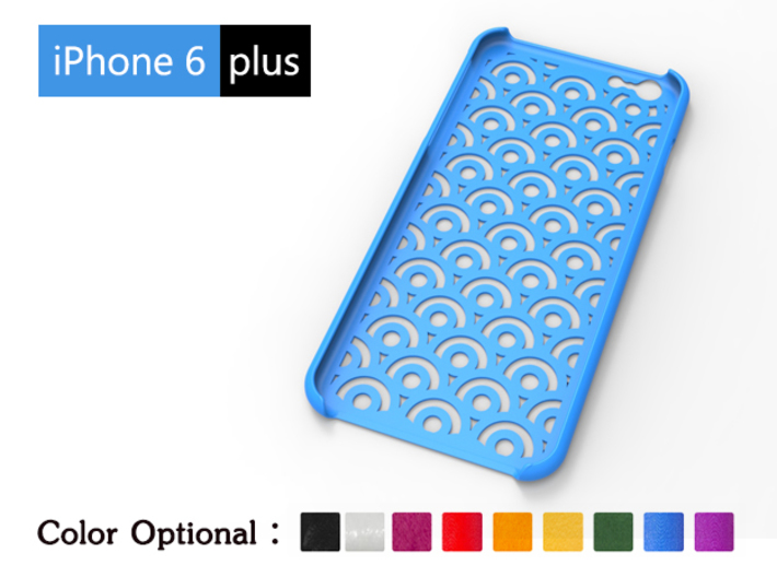 IPhone6 Plus Case-clouding 3d printed