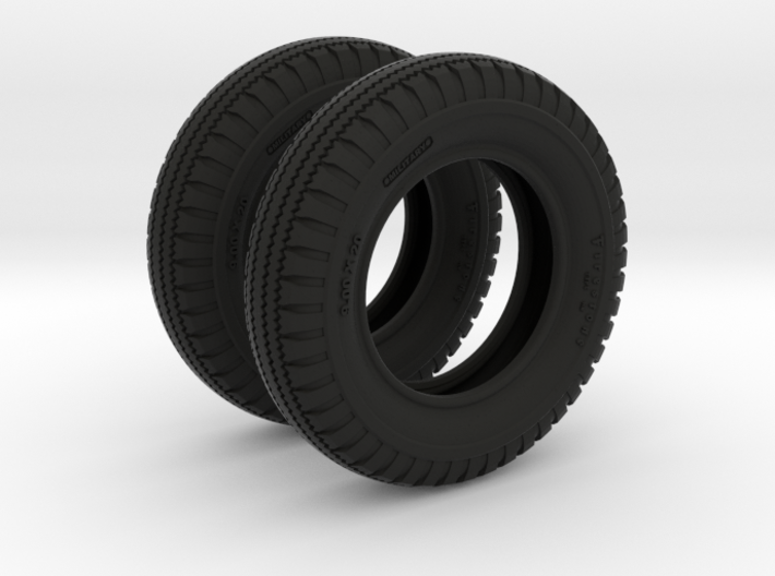 1-16 Tire  9 00x20 two units 3d printed