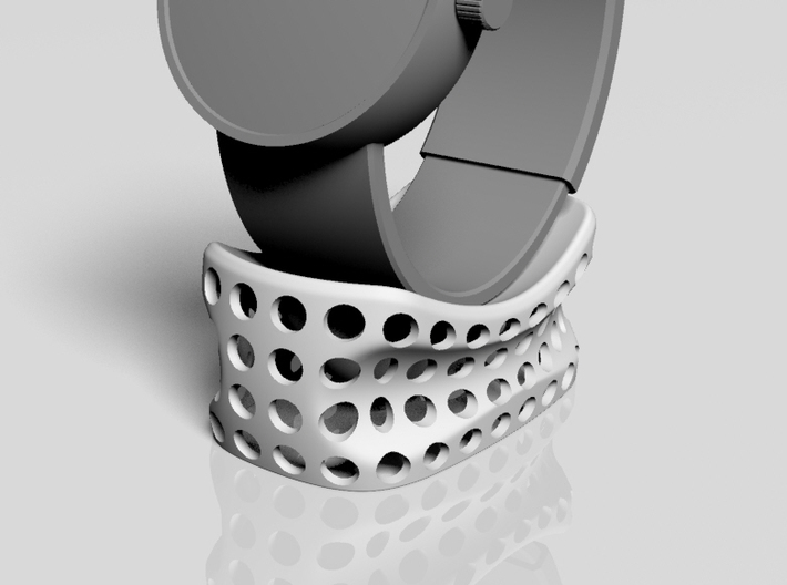 watch stand -corobo_02s_dot- 3d printed