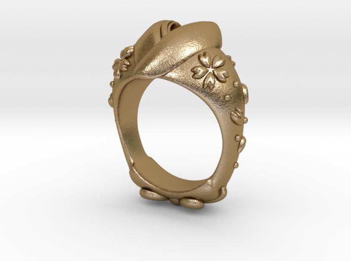 KIMONO RING 3d printed
