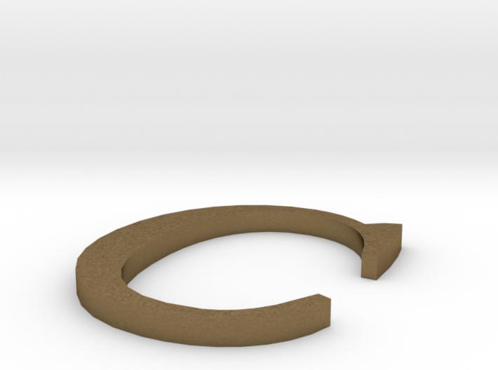 Letter-C 3d printed