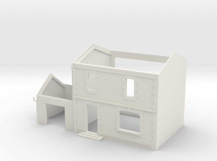 Tall House - WSF - N - 1:160 3d printed