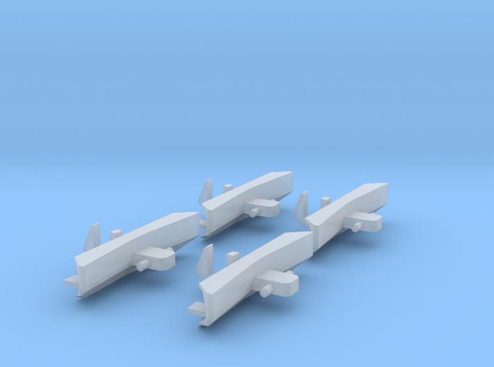 Schienenräumer für JC 2043 4 Stk. 3d printed