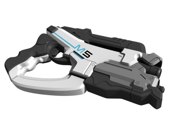 Mass Effect - 1:8 scale - M5 Phalanx 3d printed