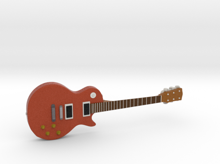 Les Paul Guitar 1:18 3d printed