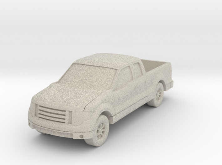"Truck At 1""=16' Scale 3d printed"