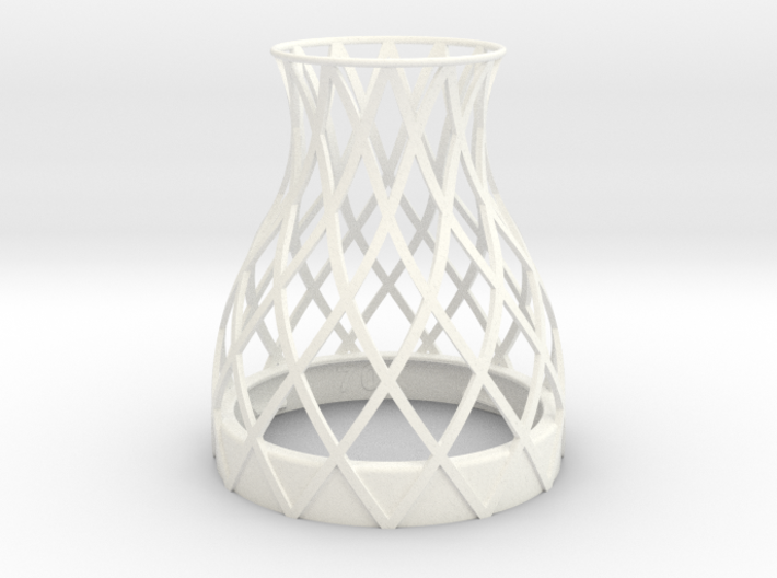Bell Vase for jar size:70 (4 leads) 3d printed