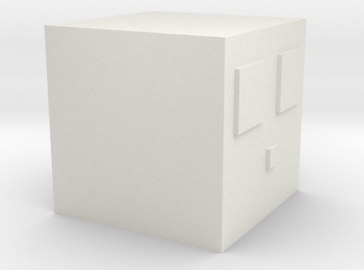 Minecraft Slime Medium 3d printed