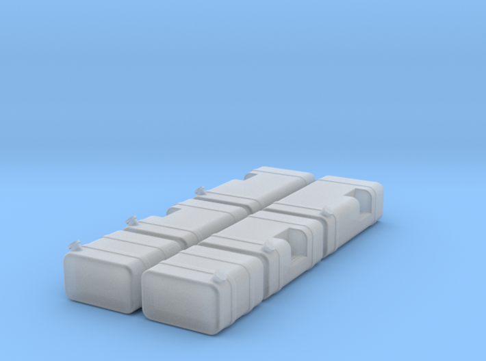 1/64th Scale Truck Square Fuel Tank builders pack 3d printed