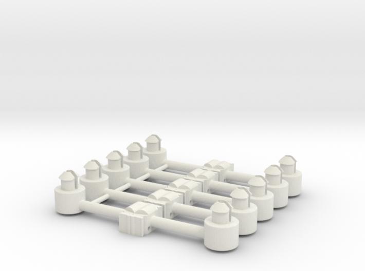 5 x Kupplungsdeichsel für Roco-Achtachser 3d printed