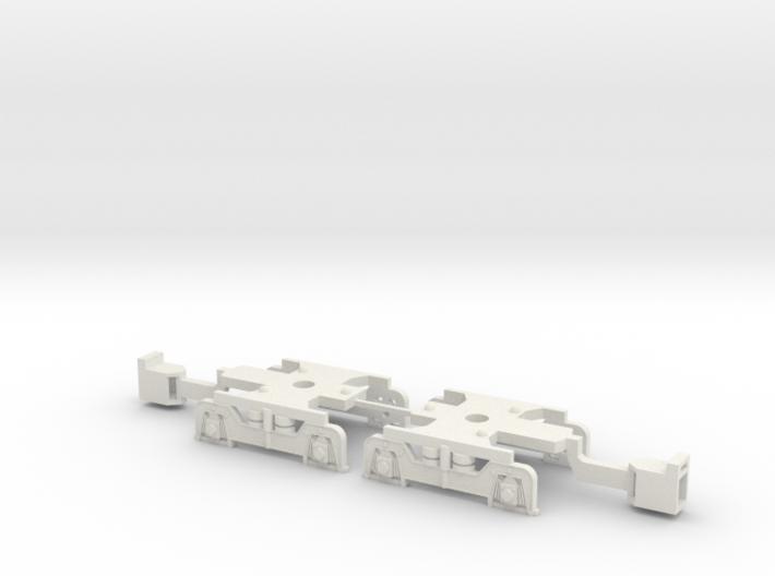 U-Bahn Wien Ersatzdrehgestell Magnetkupplung 3d printed