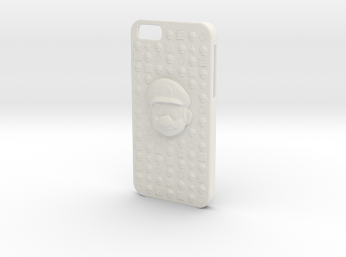Mario iPhone 6 Case 3d printed