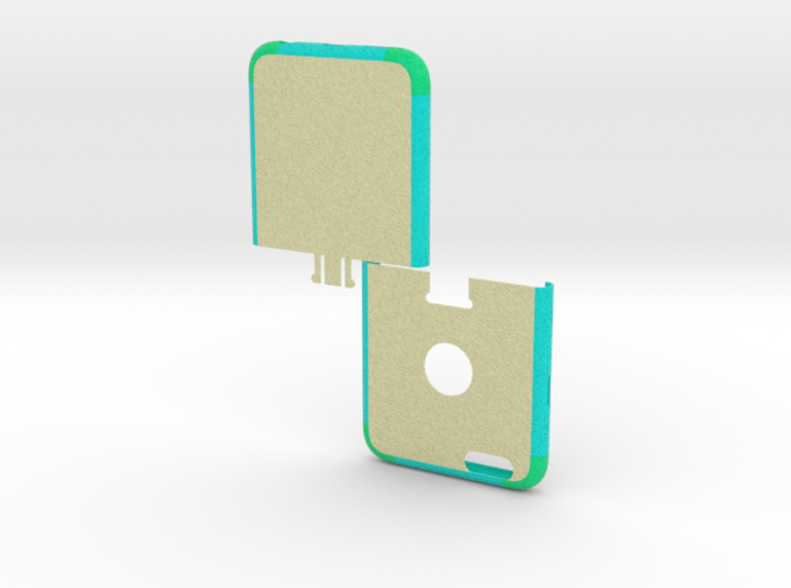 IPhone6 Two Part 3d printed