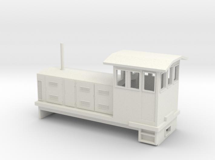 "HOn30 Endcab Locomotive (""Elke"") one p 3d printed"