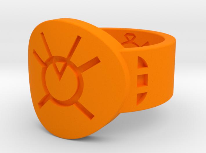 Orange Avarice FF (Sz's 5-15) 3d printed