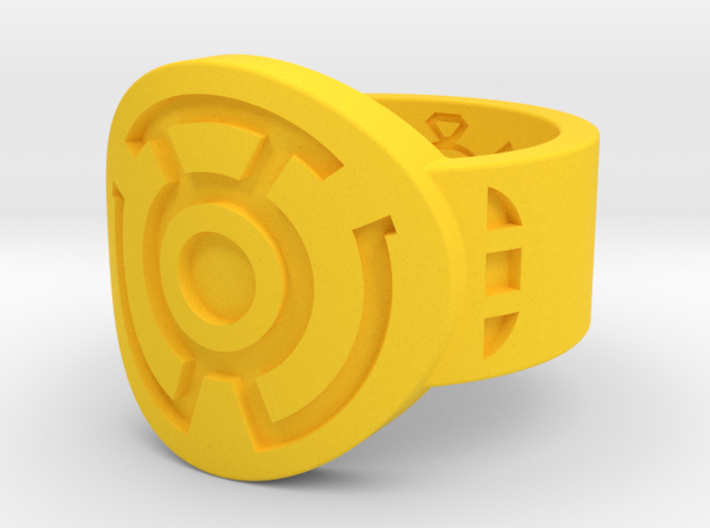 Sinestro Wing Variant FF (Sz's 5-15) 3d printed