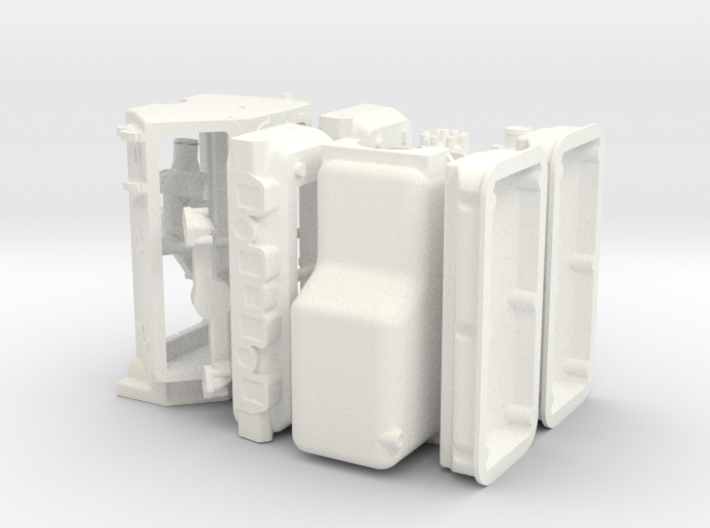 1/8 392 Hemi Basic Block Kit 3d printed