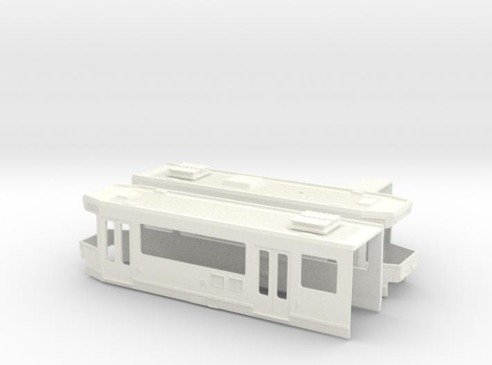 SNCV Body Single End car 3d printed