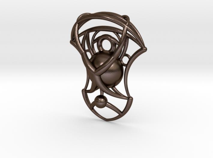 Essence Pendant 3d printed