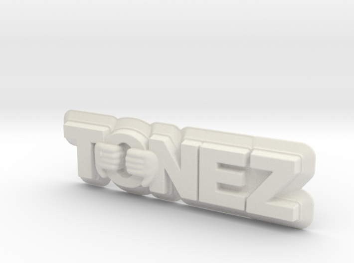 ToneZ Plate 3d printed