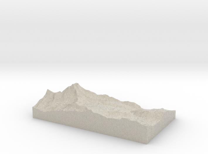 Model of Hirli 3d printed