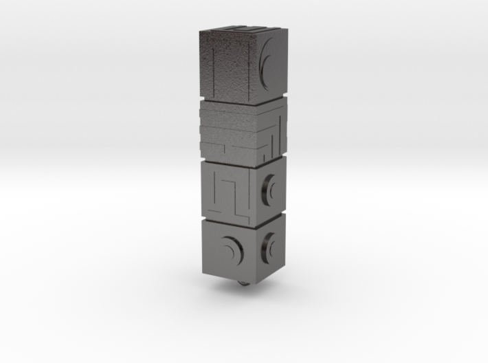 Monument Valley - The Totem keyring 3d printed