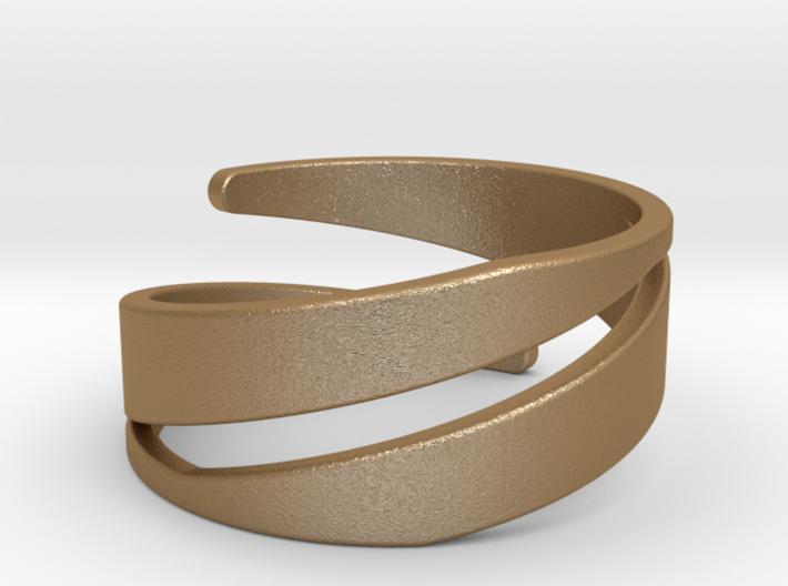 Spiral Ring (US 7) 3d printed