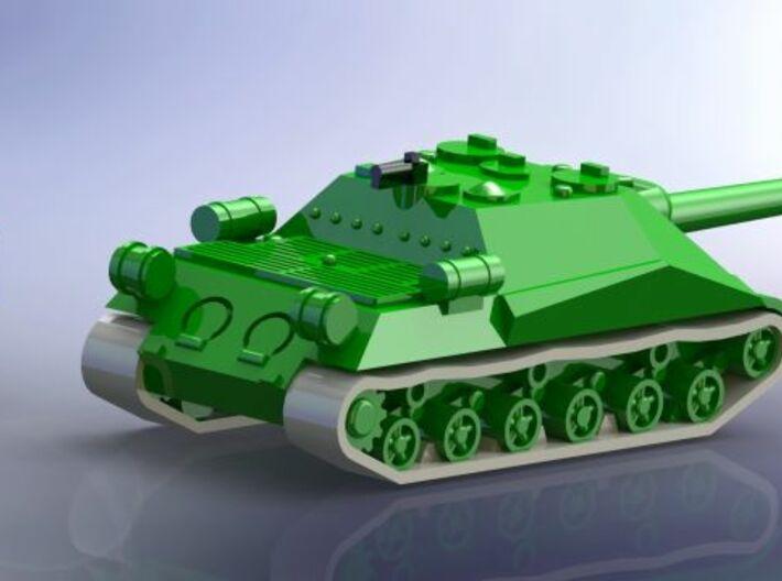 ISU-152 Object 704 Assault Gun 1/285 6mm 3d printed Add a caption...