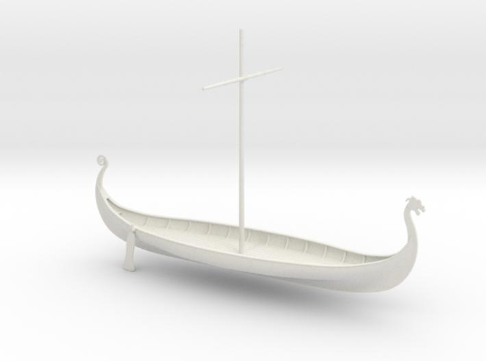 Viking Oseberg 3d printed