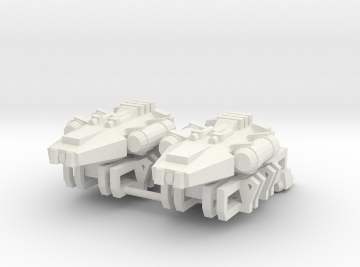Earther Scouts w/ Boosters 3d printed