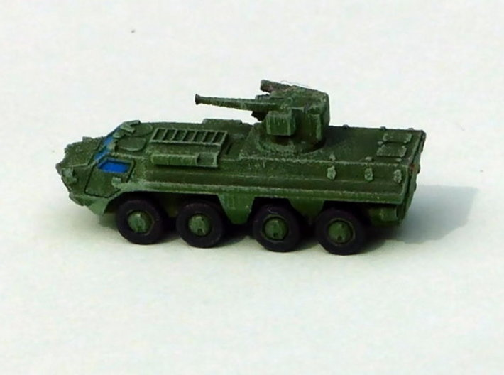 Ukranian APC BTR-4 Skval Variant 1/285 6mm 3d printed Add a caption...