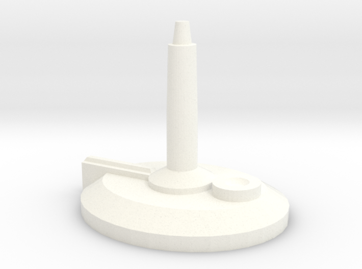 Ship Stand (requires 1/16th bit) 3d printed