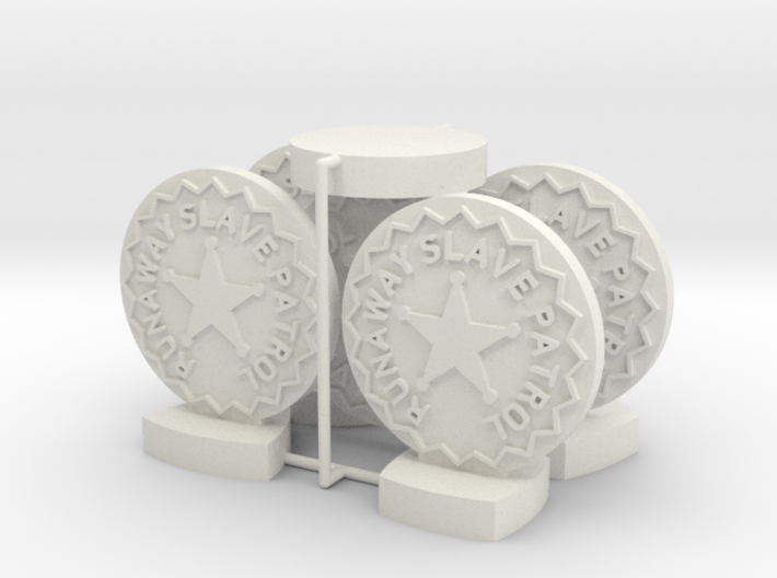 "Catcher Tokens (5pcs) - ""Badge"" version 3d printed"