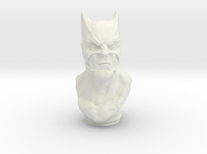 Dark Knight Bust (4.0in - 10.2cm) 3d printed