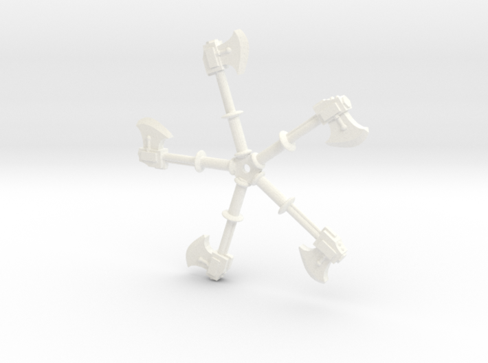 Power Axes 28mm scale 3d printed