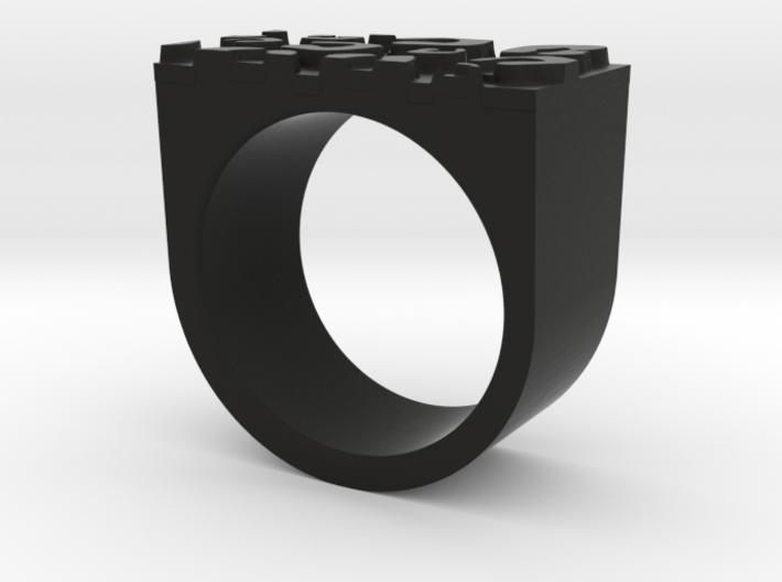 Cheetah Ring 3d printed
