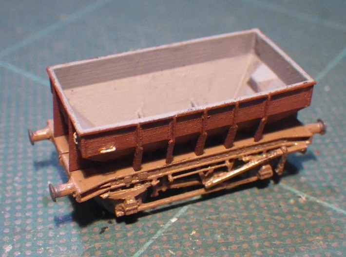 GWR Design P22 Ballast Hopper 3d printed No couplings yet