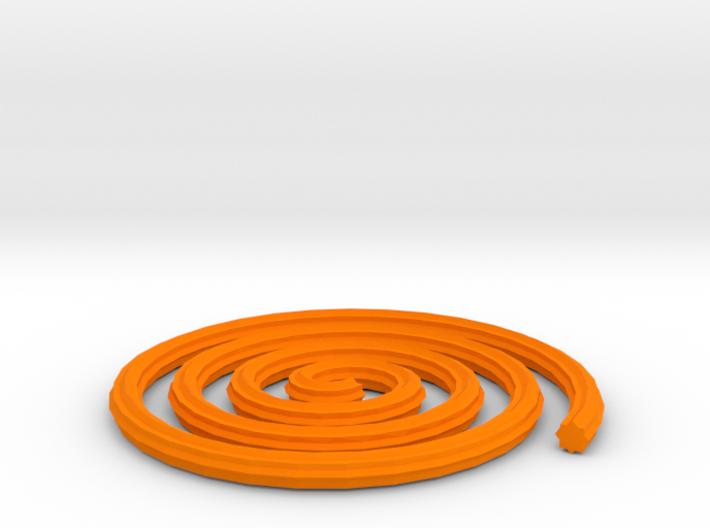 Spiral 3d printed